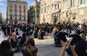 Manifestació escoles dansa