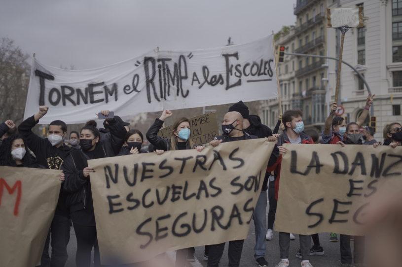 manifestacio escoles de dansa